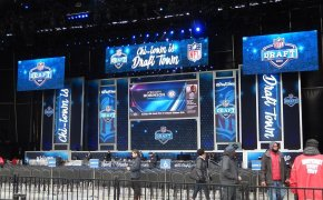 NFL Draft podium