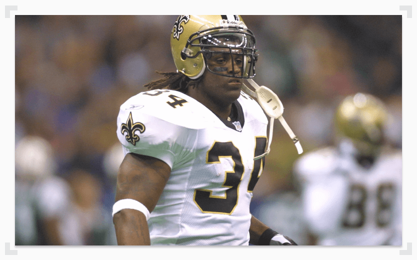 Ricky Williams New Orleans Saints