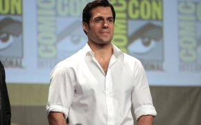 Henry Cavill at San Diego Comic Con
