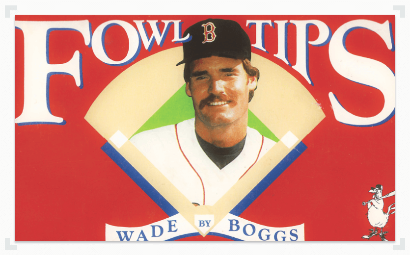 Wade Boggs Fowl Tips book cover