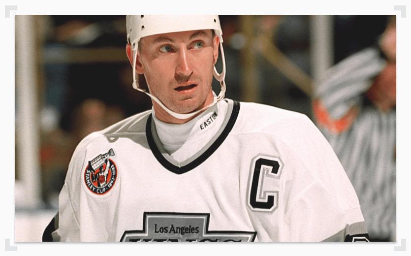 Wayne Gretzky LA Kings