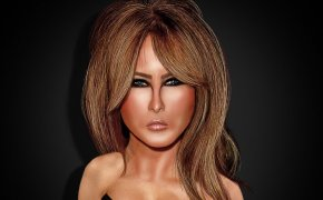 First Lady Melania Trump remains a mystery.