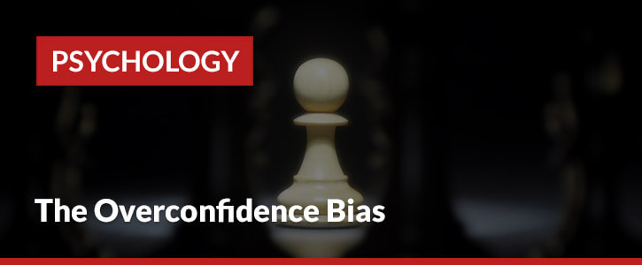 overconfidence bias header image chess piece pawn