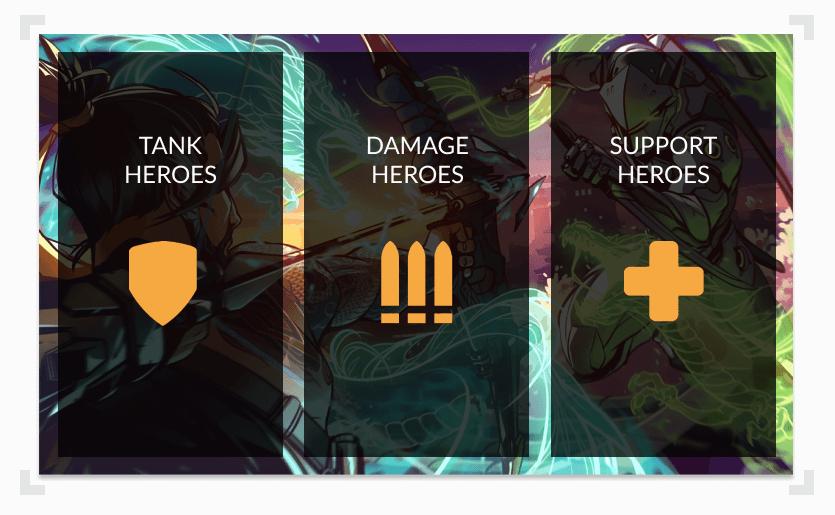 overwatch character hero types