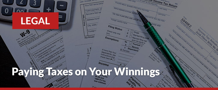 paying taxes on sports betting winnings header image