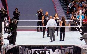 Ronda Rousey dabbles in pro wrestling