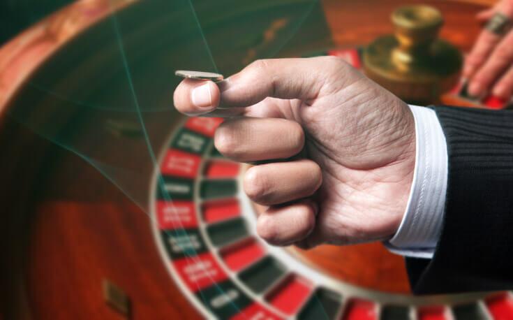 hand coin flip gambling