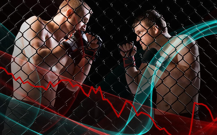 mma finding the golden underdog two fighters facing odd trends odds lines