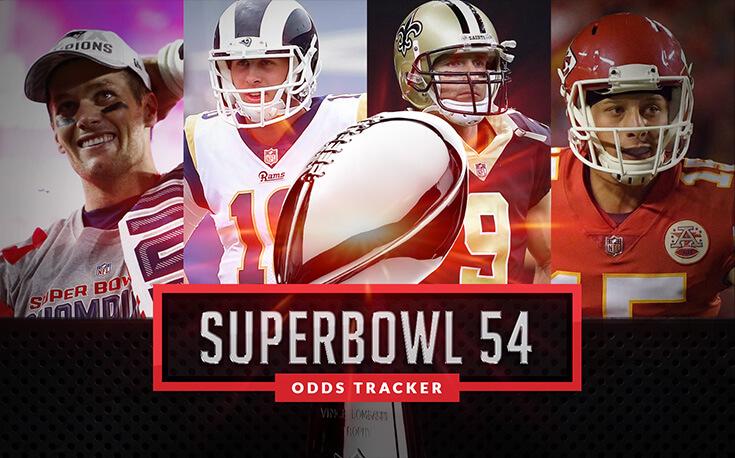 Super Bowl 54 Odds Tracker | SBD