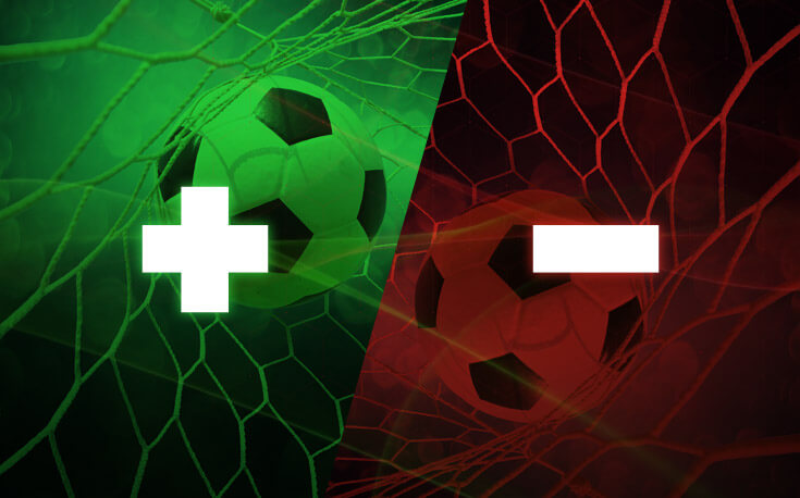 pros and cons of betting soccer plus minus soccer ball