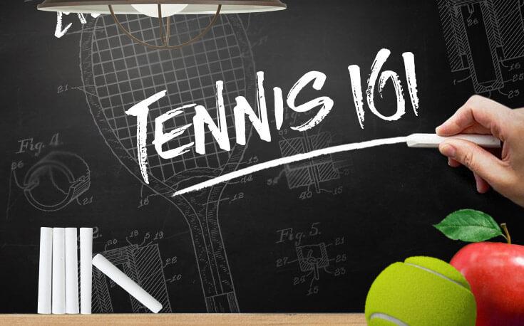 tennis betting 101 apple chalkboard tennis ball illustration