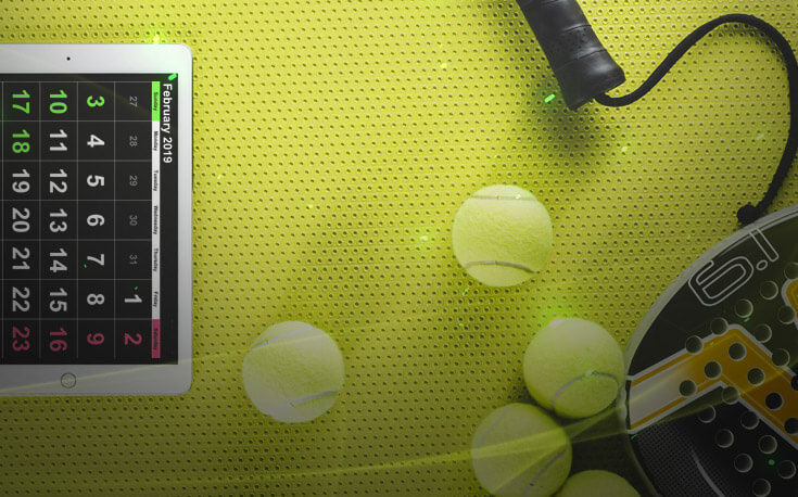 popular tennis events calendar tennis ball racket