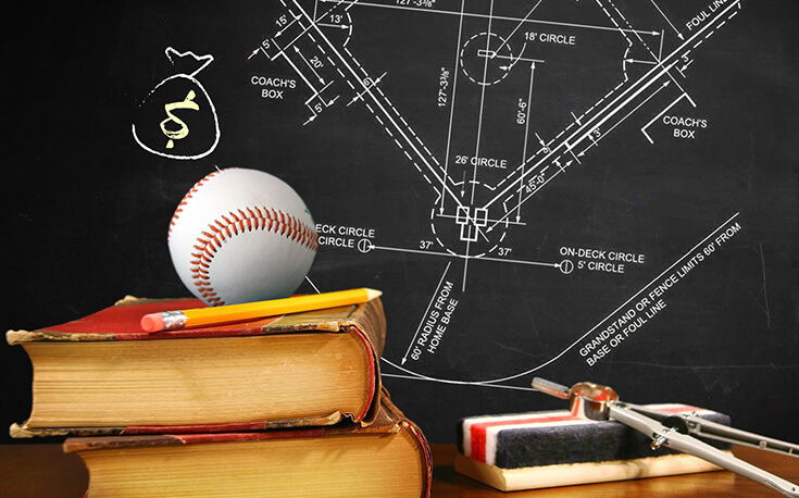 baseball betting basics baseball chalk board