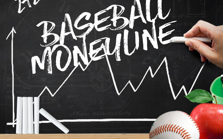 how to bet on the baseball moneyline chalk board apple chalkstick