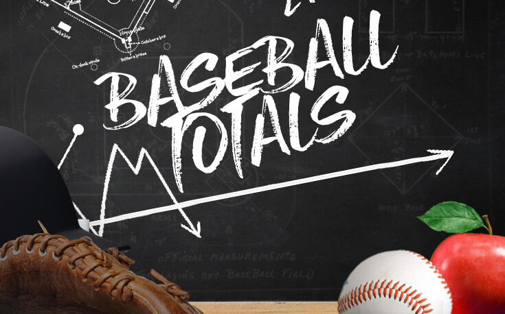 baseball totals betting mlb glove apple