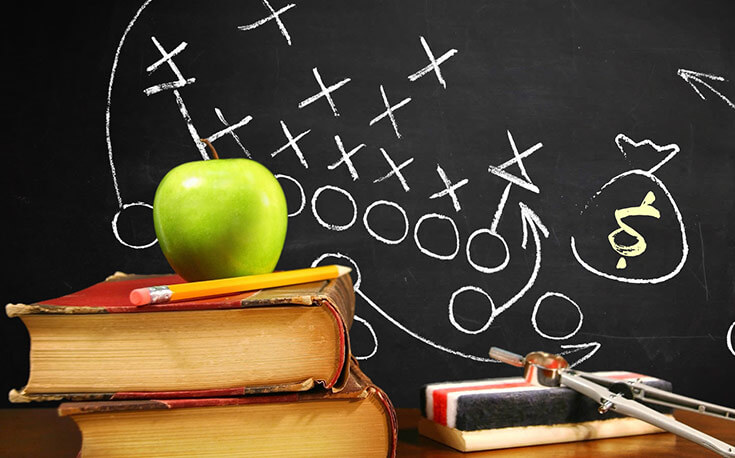 Sports Betting 101 apple pencil chalkboard