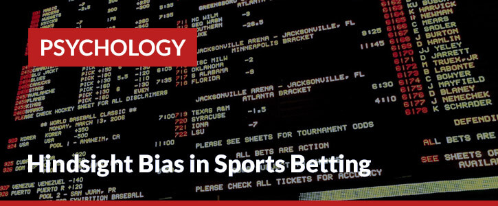 Hindsight bias in betting header image