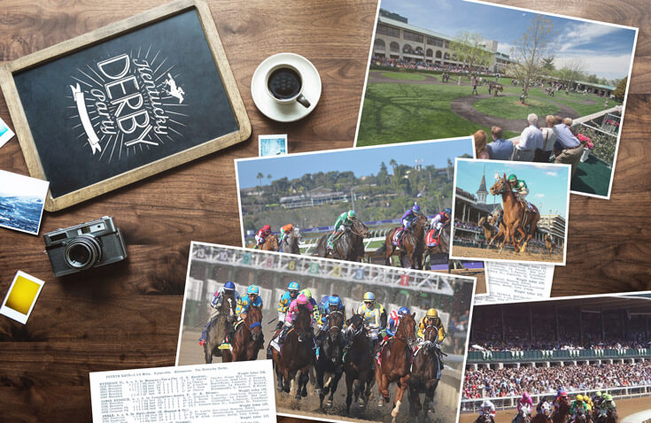 horse racing in content kentucky derby photos camera coffee
