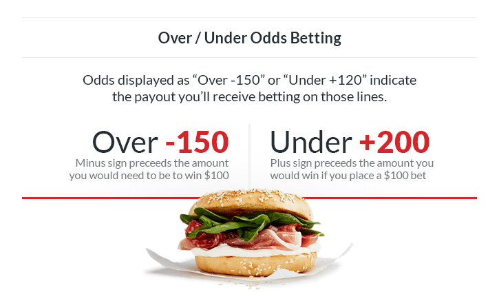 grand salami over under odds betting sandwich