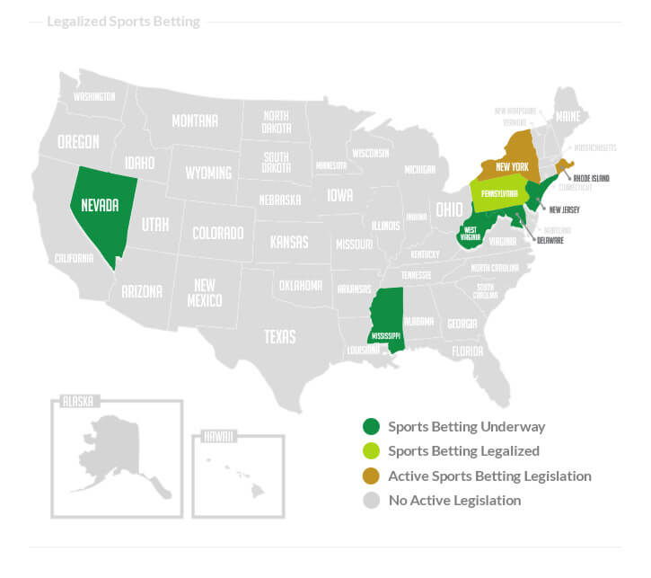 Casinos In Florida Map.Us Sports Betting Legal Tracker State By State Status Sbd