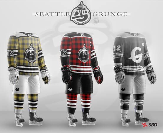 seattle grunge nhl franchise hypothetical