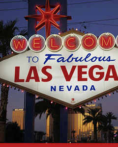 Top gambling destination Las Vegas, Nevada