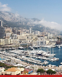 Top gambling destination, Monte Carlo