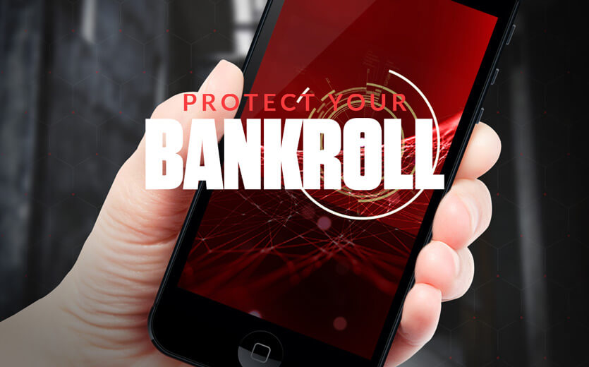 protect your bankroll cell phone image