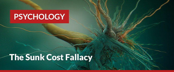 sunk cost fallacy header