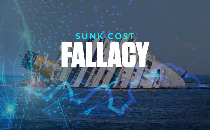 sunk cost fallacy sinking ship