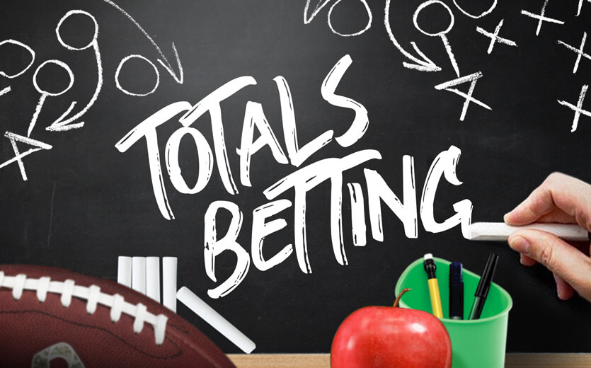 totals betting (over/under)