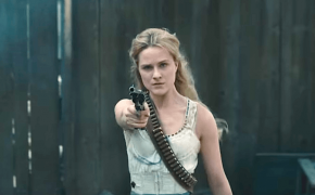 Dolores, played by Evan Rachel Wood, in the trailer for Season 2 of HBO's
